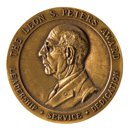 Leon S. Peters Seal